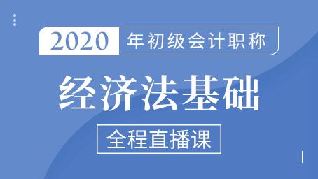 2020年初级经济法精讲班第十三讲
